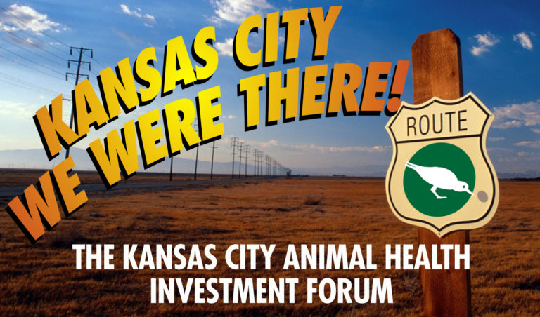 Lauren and Cathy Coach a Presenting Company and Go to the Kansas City Animal Health Investment Forum